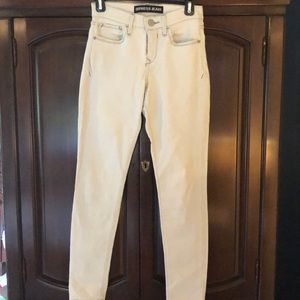 Off white Express jeans